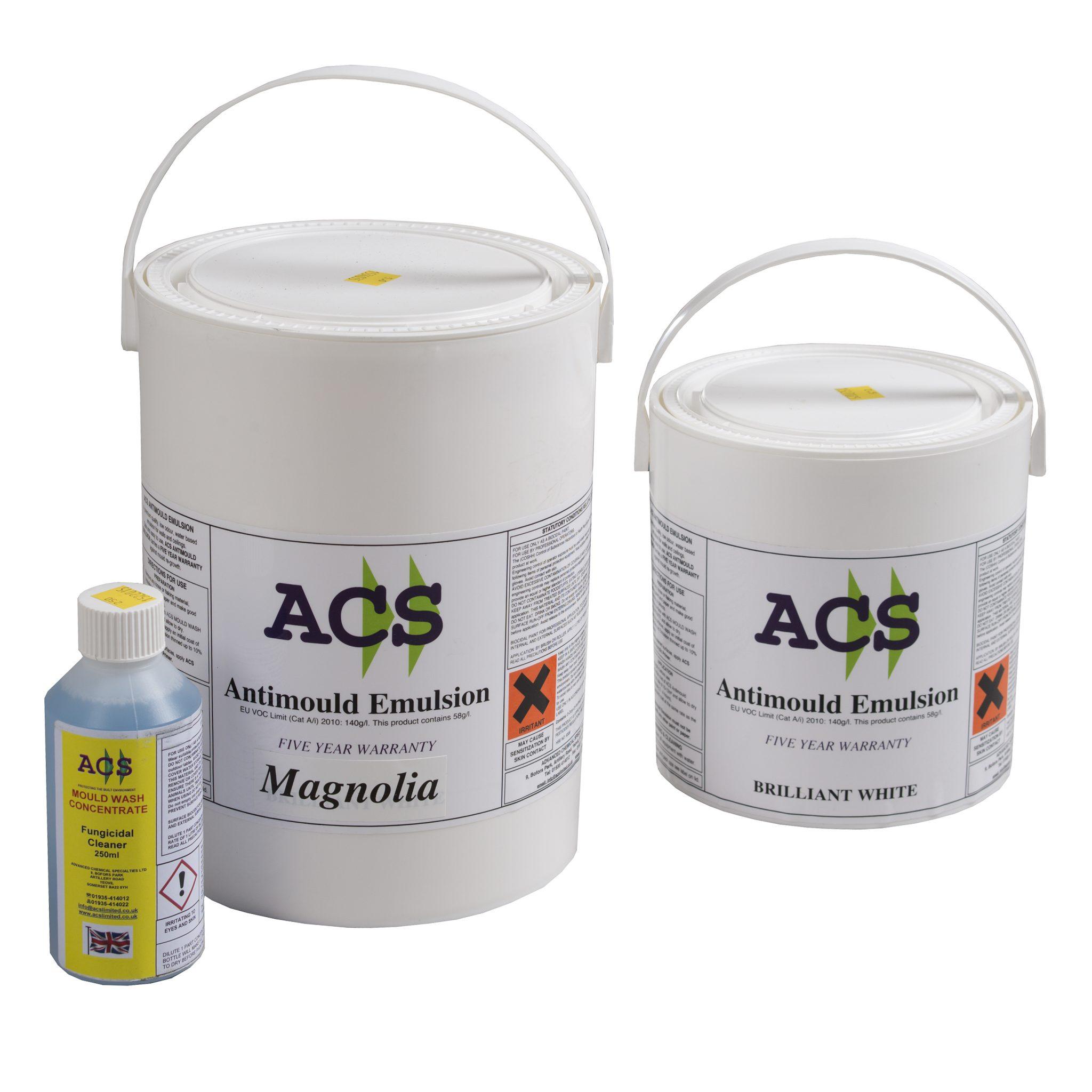 ACS Anti Mould Emulsion Paint Kit