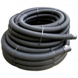 Perforated Land Drain Coil 100mm x 50mtrs