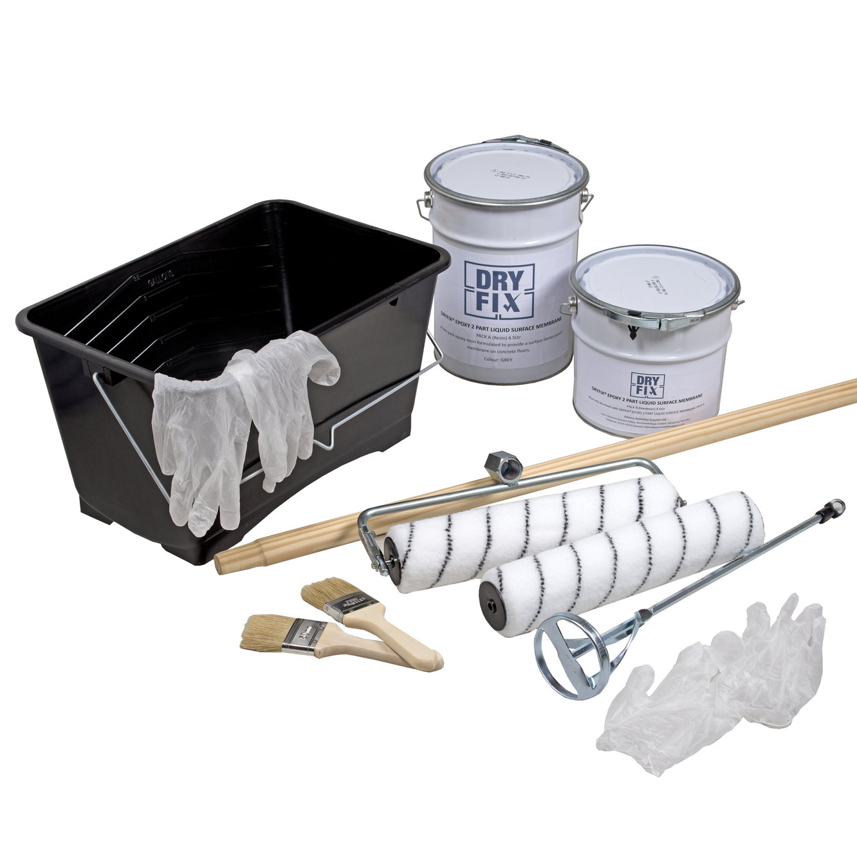 DryFix Epoxy Liquid Membrane 4.5Ltr Kit