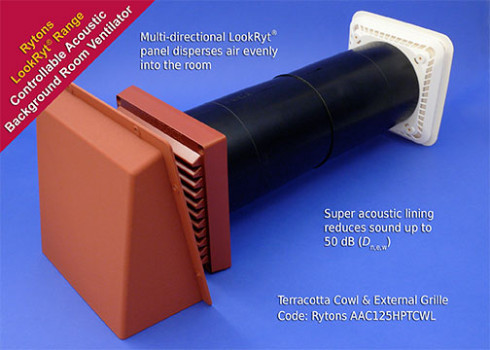 Rytons Cowled Super Acoustic Controllable LookRyt® AirCore® AAC125HPCWL