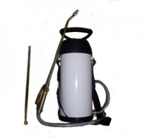 Mesto 5 Litre Steel Sprayer with Gel Lance For DPC Injecting