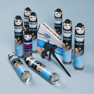 Bond It Mega Stik Plasterboard Adhesive 8 Can Kit