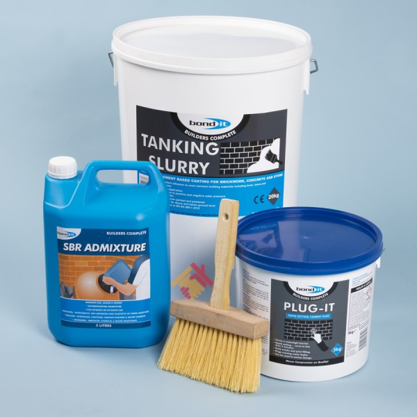 Bond It Tanking Slurry Kit Alliance Remedial Supplies