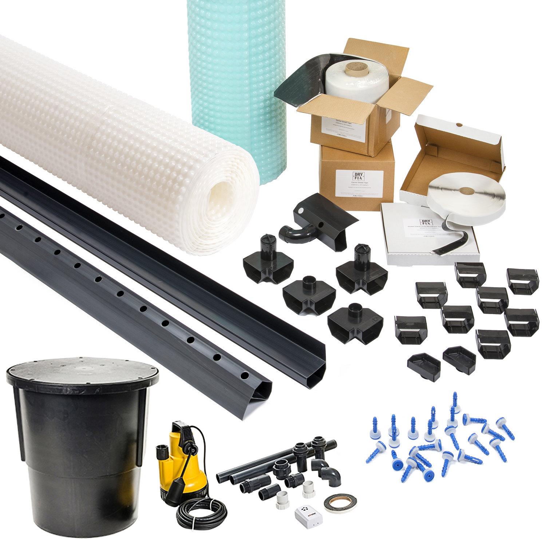 Basement Tanking 8mm Stud Cavity Membrane Waterproofing